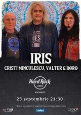 Concert IRIS Cristi Minculescu, Valter si Boro pe 23 septembrie