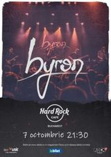 Concert byron pe 7 octombrie la Hard Rock Cafe