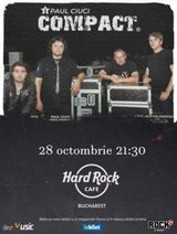 Concert Compact pe 28 octombrie la Hard Rock Cafe