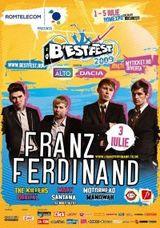Franz Ferdinand la Bestfest 2009