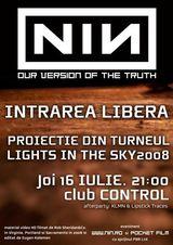 Seara speciala Nine Inch Nails in Club Control