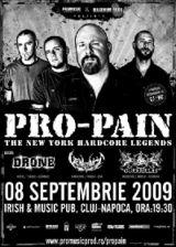 Concert Pro-Pain la Cluj-Napoca