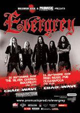 Concert Evergrey si Chaoswave la Bucuresti