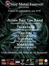 Action Bass Tom, Tarantula, Spectral, Kistvaen si Negativist concerteaza in Suburbia