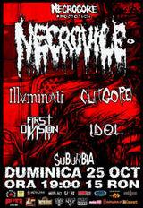 Necrovile lanseaza noul album in Bucuresti