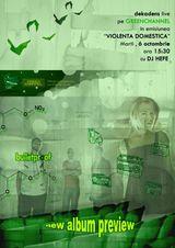 Concert live astazi cu Dekandens la Green Channel