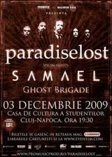 AMANAT si ANULAT  - Concert Paradise Lost si Samael in Romania la Cluj Napoca