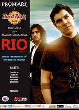 Rio concerteaza la Hard Rock Cafe!