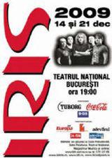 Concert Iris la Teatrul National Bucuresti
