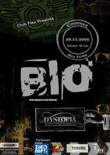 Concert Bio si Dystopia in Club Flex din Arad