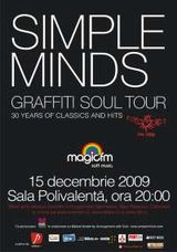 Concert Simple Minds in Romania la Sala Polivalenta pe 15 decembrie la Bucuresti