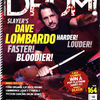 Dave Lombardo cover Drum Magazine