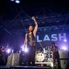 Poze cu Slash la Arenele Romane