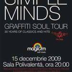 Concurs: Castiga 4 invitatii la concertul Simple Minds!