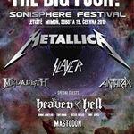 Metallica vor anunta mai multe concerte in cadrul Sonisphere abia in 2010