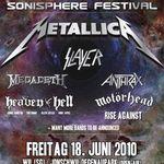 Mastodon si Rise Against confirmate la Sonisphere Elvetia