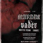 Detalii privind biletele la concertele Marduk / Vader in Romania