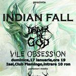 Indian Fall si Deliver The God concerteaza la Iasi