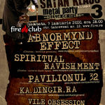 Noi detalii despre editia a 3-a Satan Klaus Metal Party