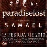 Noi detalii despre concertul Paradise Lost si Samael la Cluj-Napoca