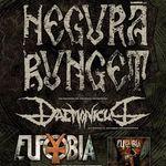 Concert Negura Bunget si Eufobia in clubul Suburbia din Bucuresti