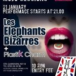 Concert Les Elephants Bizzares si Plastik Charm in Club Mojo