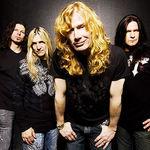 Tablou cu Dave Mustaine in lupta cu Metallica. Mustaine castiga