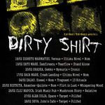 Lansare speciala a noului album Dirty Shirt