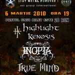Inopia, Highlight Kenosis si True Mind in concert la Busteni