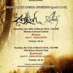 Ultimele detalii legate de concertele Agalloch si Alcest