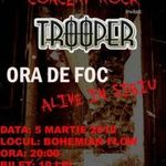 Trooper concerteaza in Bohemian Flow din Sibiu
