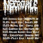 Concert Necrovile in club Suburbia