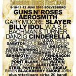 Noi formatii confirmate pentru Sweden Rock 2010