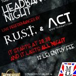 Concert R.U.S.T. si Act in Club Mojo