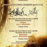 Filmari oficiale cu Agalloch si Alcest in concert la Bucuresti
