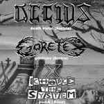 Concert Decius si Goretex in Arotehnica Club din Aiud