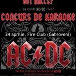 Seara Karaoke AC/DC in Fire Club cu Lenti Chiriac