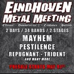 Mayhem si Pestilence confirmati pentru Eindhoven Metal Meeting