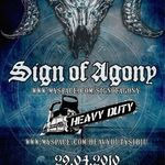 Concert Sign Of Agony si Heavy Duty in Sibiu