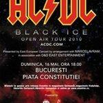 Detalii despre amplasarea tribunelor VIP la concertul AC/DC din Bucuresti