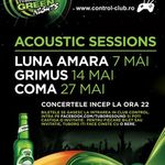Luna Amara, Grimus, Coma in Club Control din Bucuresti