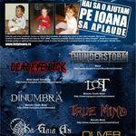 Concert caritabil cu Thunderstorm, L.O.S.T si multi altii in Suburbia