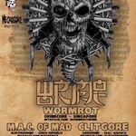 Concert Wormrot in Irish & Music Pub din Cluj Napoca
