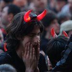 Poze cu publicul la concertul AC/DC