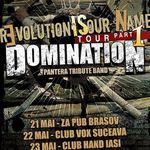 Castiga 6 invitatii pentru turneul Domination