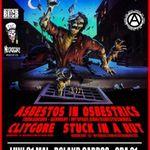 Concert Asbestos In Osbestrics, Clitgore si Stuck In A Rut in Cluj