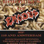 Solistul Exodus a devenit DJ
