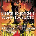 Petrecere Manowar in Club Fire din Bucuresti