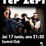 Concert Tep Zepi in Club Control din Bucuresti