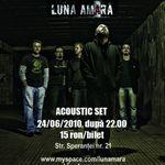 Concert Luna Amara in Club Tago Mago din Bucuresti